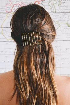 A bobby pin is an accessory that seems to be so simple. See our selection of pretty and easy to do bobby pin hairstyles.