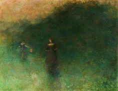 Before Sunrise - Thomas Wilmer Dewing