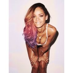 Tumblr ❤ liked on Polyvore featuring rihanna and hairstyles