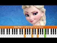 "How To Play ""Let It Go"" (Idina Menzel) Part 1 - Frozen Soundtrack - YouTube"