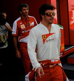 Italy GP 2013 - Fernando ♥ ♥ ♥