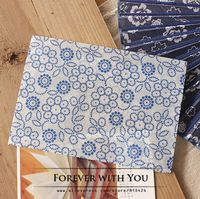 Free shiipping Retrol style flower paper envelope for wedding gift packaging envelopes 17.5*12.5cm