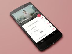 Menote - Profile Material Design #materialdesign #Mobile #UI