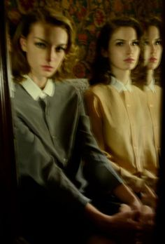 Rosemary Smith, Caterina Ravaglia & Tali Lennox by Deborah Turbeville In They Were Here!