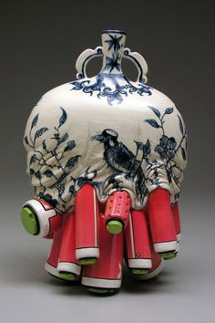 """Brendan Lee Satish Tang is a Canadian artist that creates really unique ceramic sculptures."" | Artists, Brendan Lee, design, art, contemporary art, contemporary design. | check out more contemporary art at http://www.bocadolobo.com/en/inspiration-and-ideas/"