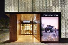 LOUIS VUITTON FUKUOKA TENJIN, JAPAN. BY JUN AOKI & ASSOCIATES