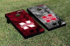 Nebraska Cornhuskers Cornhole Game Set Galaxy Version