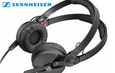 Win a signed pair of Sennheiser HD25 headphones and two $25 Beatport giftcards!