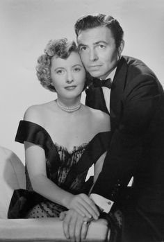 Barbara Stanwyck and James Mason