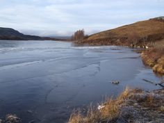 Loch Tarff Frozen Over