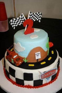 Disney Cars Themed Cake Birthday Parties 2
