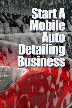 The great thing about a Mobile Auto Detailing business is that at startup, you can run it part-time, on weekends or flexi – anytime you get a client appointment. You can even run it from home – basically all you need is a telephone and appointment book an