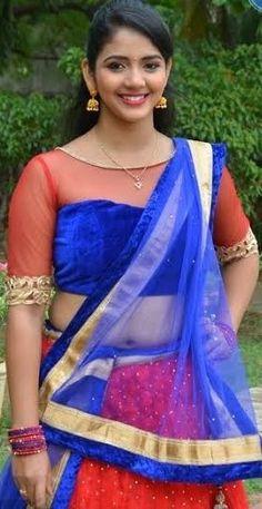 Navel Hot, Half Saree, Sari, Touch, Actresses, Beauty, Fashion, Saree, Female Actresses