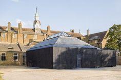 Design Technology Block, St James School - Picture gallery #architecture #interiordesign #pavilion #lab