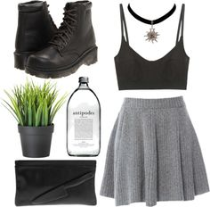 """You're still good to me if you're a bad kid baby"" by celestialfaun ❤ liked on Polyvore"