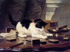 Henriette Ronner-Knip (1821-1909)