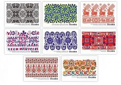 Russian Folk Art, Mountain Tattoo, Folk Embroidery, Sugar Art, Celtic, Needlework, Weaving, Arts And Crafts, Textiles