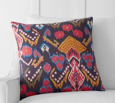 "Clara Ikat Pillow Cover | Pottery Barn  20"" x 20""  $36"