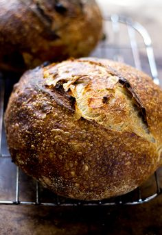 country sourdough with walnuts and raisins -