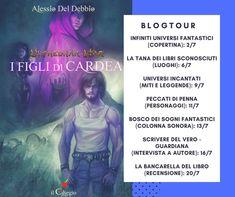 """Blogtour """"I Figli di Cardea"""": intervista ad Alessio Del Debbio"""