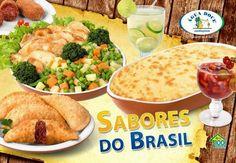 SABORES DO BRASIL SÓ NA ÁGUA DOCE. =D