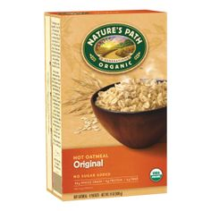 Nature's Path Organic Original Oatmeal  This sugar-free breakfast stable contains nothing but certified organic oats and a sprinkle of sea salt. All Nature's Path products are Non-GMO project verified. http://us.naturespath.com/product/original-hot-oatmeal