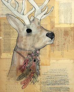 antlers.