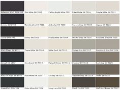 50 best Paint Charts Sherwin Williams images on Pinterest | Interior Sherwin Williams Exterior Color Chart on sherwin-williams paint color chart, toyota exterior color chart, sherwin-williams stucco color chart, 1965 chevy paint color chart, glidden exterior color chart, sherwin-williams powder color chart, ford exterior color chart, minwax exterior color chart, exterior paint color chart, pittsburgh exterior color chart, behr exterior color chart, sherwin-williams deckscapes color chart, kelly moore exterior color chart, valspar exterior color chart, dunn edwards exterior color chart, mab exterior color chart, lowes exterior color chart, sherwin-williams industrial color chart, sherwin-williams stain chart, exterior stain color chart,
