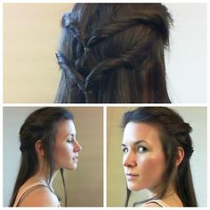 Tauriel hair and makeup tutorial