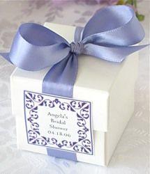 Lavender favor box