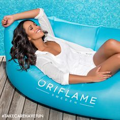 The holiday season, the afternoons on the beach, the terraces, the country walks, the diving in the swimming pools are officially open ... and the Oriflame Inflatable Bouncer promises to be the sensation this summer! If you are an Oriflam...