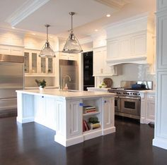 cabinets-Benjamin Moore's white walls-Farrow and Ball's elephant's breath