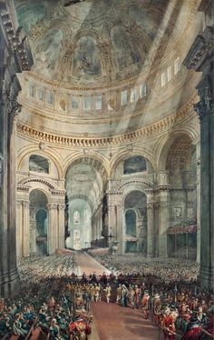 William Collingwood Smith - Thanksgiving Day, St Paul's Cathedral - 1872