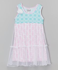 Look what I found on #zulily! Seahorse Parade Savannah Dress - Infant, Toddler & Girls by Flap Happy #zulilyfinds