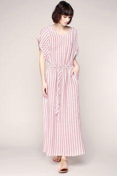 Mid-length dresse - Red / Burgundy zoom