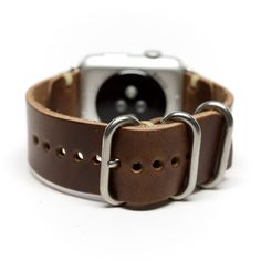 Apple Watch Band Horween Leather Watch Strap by E3 Supply Co.
