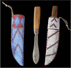 Lakota knife sheath