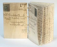 Madeleine Durham, My Grandmother's Letters book. Santa Fe Book Arts Group | 2015 Rotunda Show