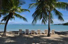 Musket Cove Resort view - Fiji