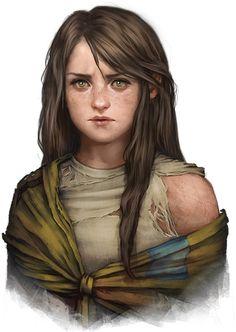 Mina, fille naturelle du Capitaine Fynn (Grand ambassadeur du duché du Cerf) Kingmaker : Les habitants des Terres Volées
