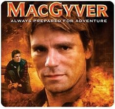 Even though MacGuyver aired in the 80's/90's- he will always be cooler than Chuck Norris!