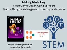 Quick and Dirty one class maker lesson.Perfect for people new to Making, wanting simple, straight forward directions.Feel good about engaging your students in a meaningful way.This lesson will allow students to learn good design principles and how to make their own video game.