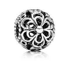 Pandora Charm Durchbrochene Apfelblüte 790965 Sterling Silber