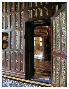 Chateau Blois - Catherine de Medicis room, via Flickr. - http://www.flickr.com/photos/saskya/22567008/