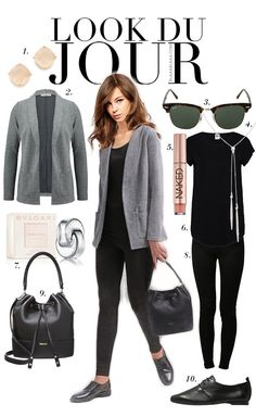 Black Leggings Outfit, Tribal Leggings, Legging Outfits, Chic Business Casual, Business Outfits, India Fashion, Japan Fashion, Indie Mode, Snappy Casual
