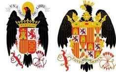 ¿El yugo y las flechas son un símbolo franquista? ¿Qué significa la granada de la parte inferior? ¿Las franjas rojas y amarillas representan a Cataluña?