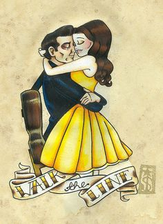 <3 Johnny Cash & June Carter <3