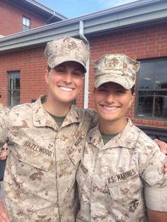 {  SISTERS MAKE IT THROUGH ENLISTED MARINE INFANTRY TRAINING  }    #MarineCorpsTimes  ..... ''Meet the Marine sisters who made it through Infantry Training Battalion.''.....   http://www.marinecorpstimes.com/story/military/careers/marine-corps/2015/04/11/sisters-make-it-through-marine-infantry-training/25403629/