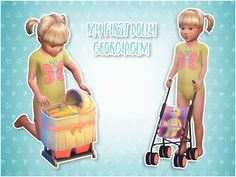 Sims 4 CC's - The Best: My First Dolly by Georgiaglm
