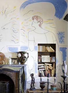 Holiday Cave Paintings at the Villa Santo Sospir: JEAN COCTEAU's Greatest Gesamtkunstwerk | 032c Workshop